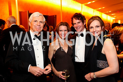 Ray Benton, Ashley Allen, Doug and Gabriella Smith. Harman Center for the Arts Annual Gala. October 25, 2009. photos by Tony Powell