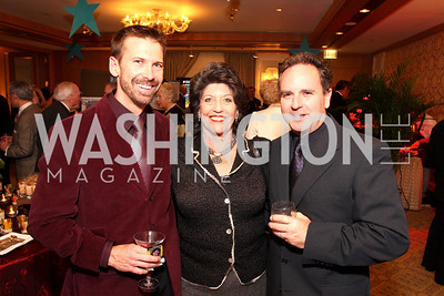 brad frey, carol schwartz, joe watkins Photo by Tony Powell