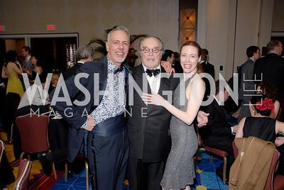 Fred Schiffman, Ted Van Gruiethuysen, Veanne Cox  Photo by Kyle Samperton