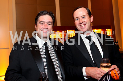 """Tom Papadopoulos and Geoff Tracy. Joan Hisaoka """"Make a Difference"""" Gala. Mandarin Oriental Hotel. October 24, 2009. photos by Tony Powell"""