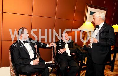 """Walter Houston, Morton Bender, Ray Benton. Joan Hisaoka """"Make a Difference"""" Gala. Mandarin Oriental Hotel. October 24, 2009. photos by Tony Powell"""