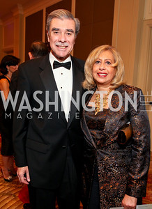 "Carlos and Edilia Gutierrez. Joan Hisaoka ""Make a Difference"" Gala. Mandarin Oriental Hotel. October 24, 2009. photos by Tony Powell"