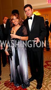 "Gabi and Arturo Ponce. Joan Hisaoka ""Make a Difference"" Gala. Mandarin Oriental Hotel. October 24, 2009. photos by Tony Powell"