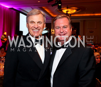 "Stuart Bernstein and Steve Buckhantz. Joan Hisaoka ""Make a Difference"" Gala. Mandarin Oriental Hotel. October 24, 2009. photos by Tony Powell"