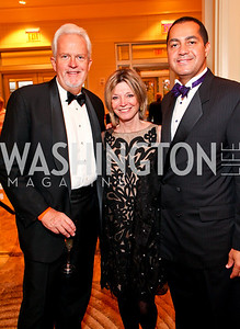 "Jack Davies, Kay Kendall, Don Peebles. Joan Hisaoka ""Make a Difference"" Gala. Mandarin Oriental Hotel. October 24, 2009. photos by Tony Powell"