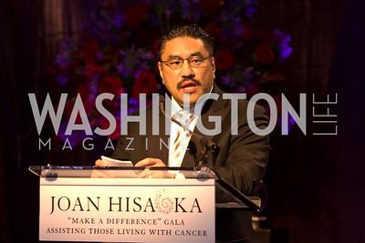 "Robert Hisaoka. Joan Hisaoka ""Make a Difference"" Gala. Mandarin Oriental Hotel. October 24, 2009. photos by Tony Powell"