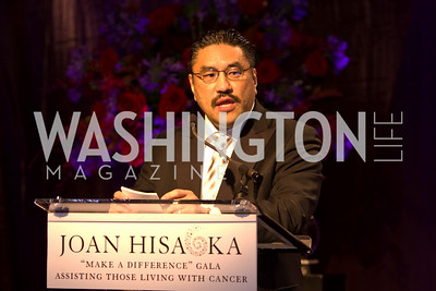 "Robert Hisaoka. Joan Hisaoka ""Make a Difference"" Gala. Mandarin Oriental Hotel. October 24, 2009. photos by Tony Powell"