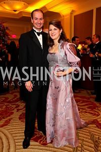 "Peter and Carolyn Manos. Joan Hisaoka ""Make a Difference"" Gala. Mandarin Oriental Hotel. October 24, 2009. photos by Tony Powell"