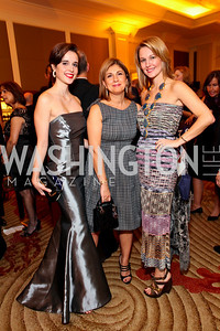 "Carolina Furukrona, Fariba Jahanbani, Lana Orloff. Joan Hisaoka ""Make a Difference"" Gala. Mandarin Oriental Hotel. October 24, 2009. photos by Tony Powell"