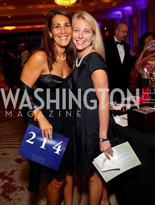 """Holly Karp, Katharine Powell. Joan Hisaoka """"Make a Difference"""" Gala. Mandarin Oriental Hotel. October 24, 2009. photos by Tony Powell"""