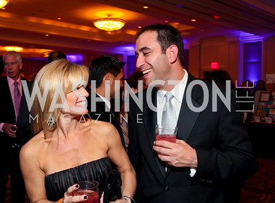 "Brooke and Matt Melnick. Joan Hisaoka ""Make a Difference"" Gala. Mandarin Oriental Hotel. October 24, 2009. photos by Tony Powell"