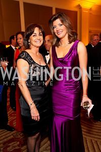 "Marie Schram and Norah O'Donnell. Joan Hisaoka ""Make a Difference"" Gala. Mandarin Oriental Hotel. October 24, 2009. photos by Tony Powell"