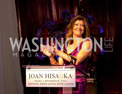 "Norah O'Donell. Joan Hisaoka ""Make a Difference"" Gala. Mandarin Oriental Hotel. October 24, 2009. photos by Tony Powell"