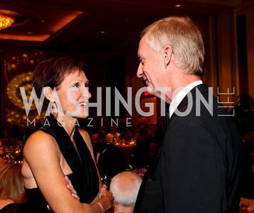 "Miriam Pollin and Jack Evans. Joan Hisaoka ""Make a Difference"" Gala. Mandarin Oriental Hotel. October 24, 2009. photos by Tony Powell"