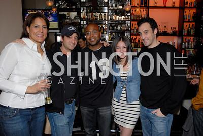 Karen Finney, Brian Komar, Emile Hill, Vanessa Bados, and Paul Rosen, Photo by Kyle Samperton