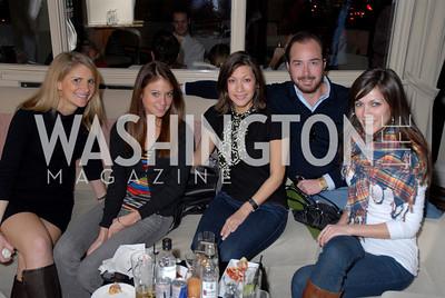 Danielle O'Hara, Rebecca Canan, Sara Studebaker, Roby Penn, and Alana Harrington, Photo by Kyle Samperton