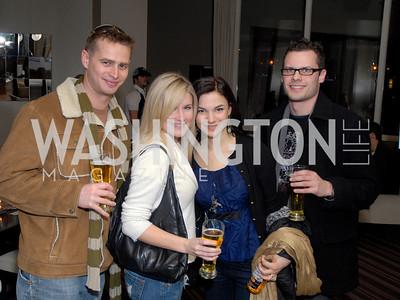 Pat Lobner, Missy Garner, Cecil Boggs, and David Tanzabell, Photo by Kyle Samperton