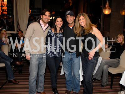 Zach Schram, Danielle Drabkin, Brian Komar, and Lisa Ellman. Photo by Kyle Samperton
