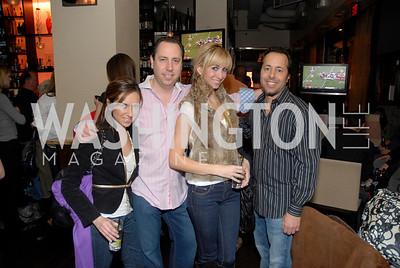 Jessica Baca, Richard Strauss, Jaclyn Gower, and Alan Popovsky. Photo by Kyle Samperton