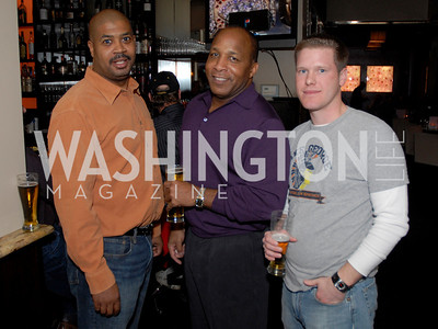 Terrance Murphy, Skip Henderson, and Stephen Andrews. Photo by Kyle Samperton