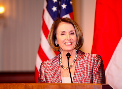 Speaker Speaker Nancy Pelosi. ICCF Congressional Dinner Honoring HSH Prince Albert II of Monaco. Cannon Caucus Room. October 20, 2009. photos by Tony Powell