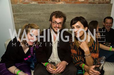 Liz Glover, Sam Loewenberg, Jasmine Chehrazi. Photograph by Betsy Spurill Clarke