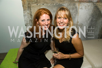 Karen Travers, Emily Stanitz. Photograph by Betsy Spurill Clarke