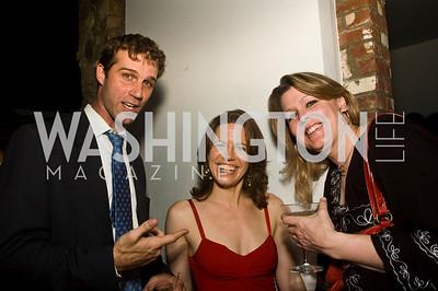 John Neffinger, Amy Argetsinger, Lauren Vicary. Photograph by Betsy Spurill Clarke