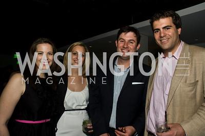 Ann Schroeder, Natalie Ravaitz, Mark Paustenbach, Patrick Gavin. Photograph by Betsy Spurill Clarke