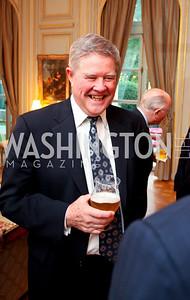 General Joseph Ralston. A dinner in honor of Ambassador and Mrs. Sam Fox. Belgian Ambassador's residence. October 5, 2009. photos by Tony Powell
