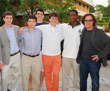 Jack Prominski, Nicholas Folger, Joe Todd, Ben Leiken, Wes Thomas, Davis Guggenheim, Photograph by Kyle Samperton