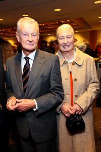 Zbigniew and Emilie Brzezinski. J Street Gala Dinner. Grand Hyatt Hotel. October 27, 2009. photos by Tony Powell