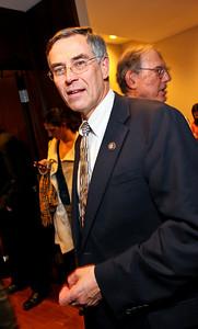 New Jersey Congressman Rush Holt. J Street Gala Dinner. Grand Hyatt Hotel. October 27, 2009. photos by Tony Powell