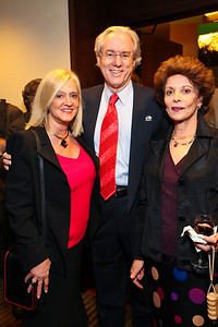 Trish and George Vradenburg with Judith Kipper. J Street Gala Dinner. Grand Hyatt Hotel. October 27, 2009. photos by Tony Powell
