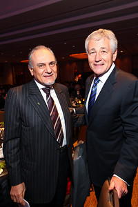 Prince Turki Al Faisal and Chuck Hagel. J Street Gala Dinner. Grand Hyatt Hotel. October 27, 2009. photos by Tony Powell