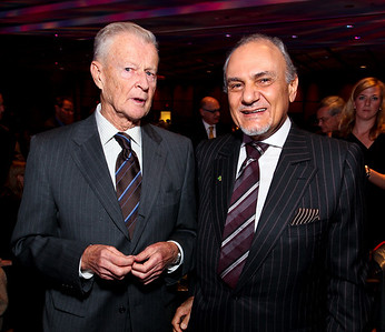 Zbigniew Brzezinski, Prince Turki Al Faisal. J Street Gala Dinner. Grand Hyatt Hotel. October 27, 2009. photos by Tony Powell
