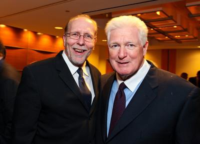 Congressmen Dave Loebsack of Iowa and Jim Moran of Virginia. J Street Gala Dinner. Grand Hyatt Hotel. October 27, 2009. photos by Tony Powell