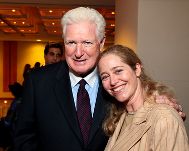 Virginia Congressman Jim Moran and Nancy Reynolds Bagley. J Street Gala Dinner. Grand Hyatt Hotel. October 27, 2009. photos by Tony Powell
