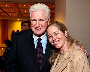 Virginia Congressman Jim Moran and Nancy Reynolds Bagley. J Street Gala Dinner. Grand Hyatt Hotel. October 27, 2009. photos by Tony Powell
