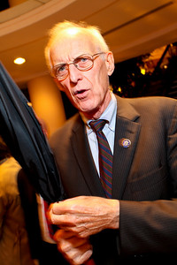 Massachussetts Congressman John Olver. J Street Gala Dinner. Grand Hyatt Hotel. October 27, 2009. photos by Tony Powell