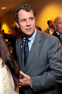 Ohio Senator Sherrod Brown. J Street Gala Dinner. Grand Hyatt Hotel. October 27, 2009. photos by Tony Powell