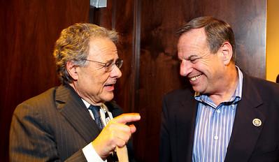 Mort halperin and California Congressman Bob Filner. J Street Gala Dinner. Grand Hyatt Hotel. October 27, 2009. photos by Tony Powell