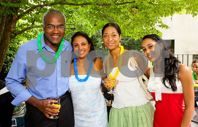 Dr Paul Thesiger, Nikki Bravo, Kadia Brown, Isha McClennan, Photograph by Tony Powell