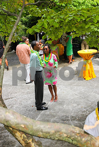 Jamaican Ambassador Anthony Johnson, Jacqui Watson, Photograph by Tony Powell