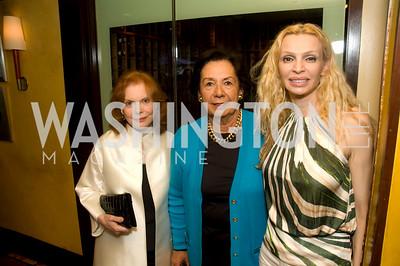 Rima Al-Savah, Ann Jordan, Buffy Cafritz, Photograph by Betsy Spurill Clarke
