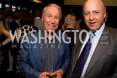 Jim Kimsey, John Negroponte, Photograph by Betsy Spurill Clarke