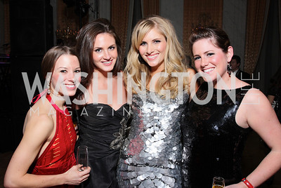 Lindsay Craig, Hadley Gamble, Ashley Taylor, Nikki Hill Photo by Tony Powell