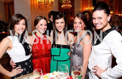 Sara Studebaker, Lindsay Craig, Alana Harrington, Rebecca Canan, Leslie Green Photo by Tony Powell