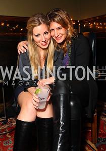 Laura Ginsburg and Randi Max. Jete Society Nutcracker Party at George. December 18, 2009. photos by Tony Powell