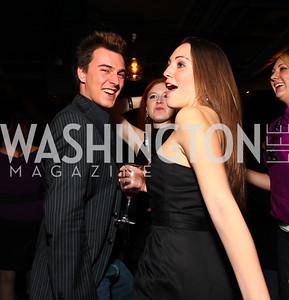 Dalton Richardson and Sara Lange. Jete Society Nutcracker Party at George. December 18, 2009. photos by Tony Powell